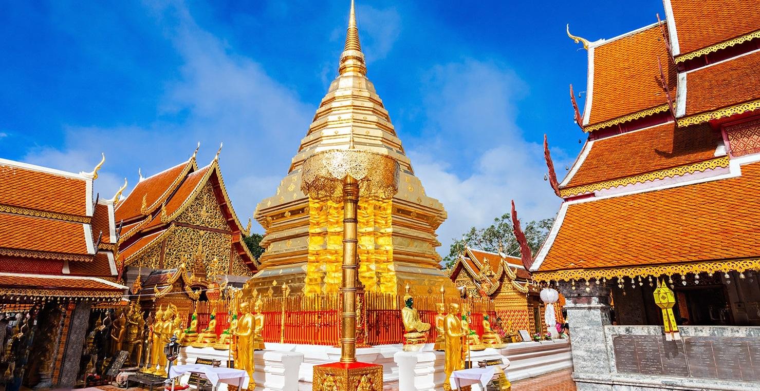 Chiang mai doi sutep templos tribus