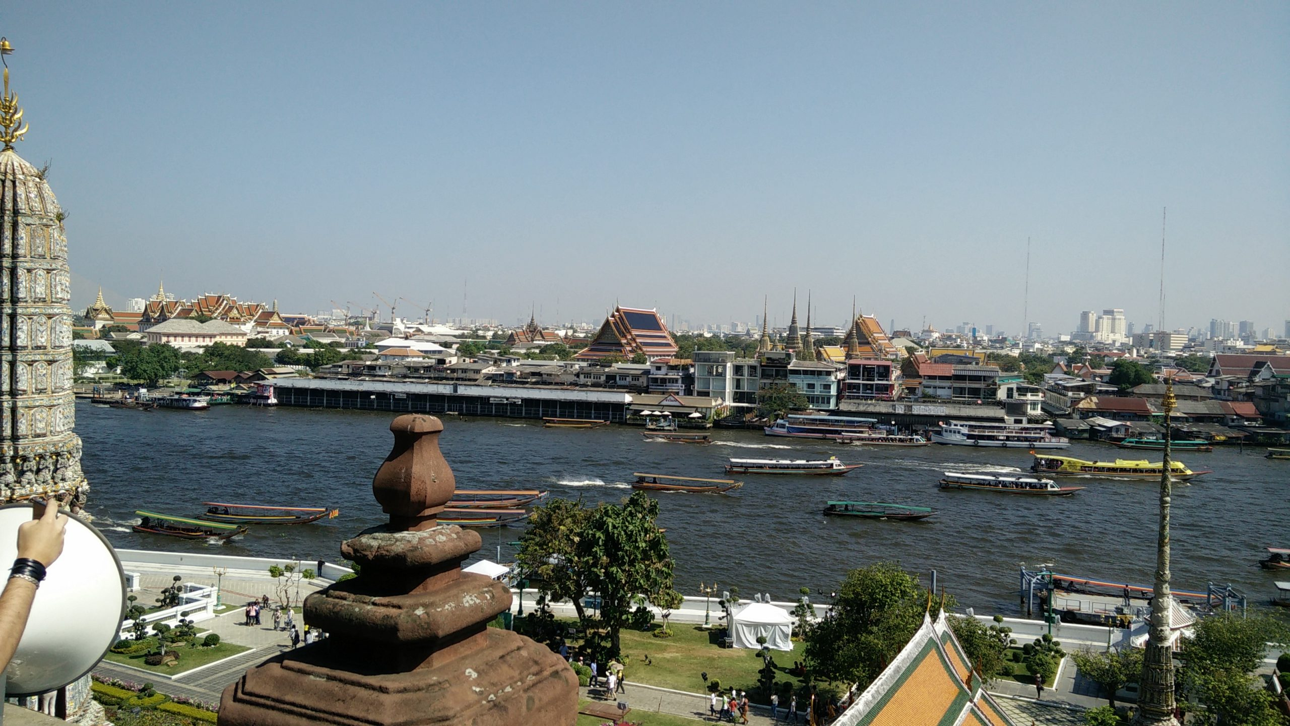 Bangkok vistas wat arun