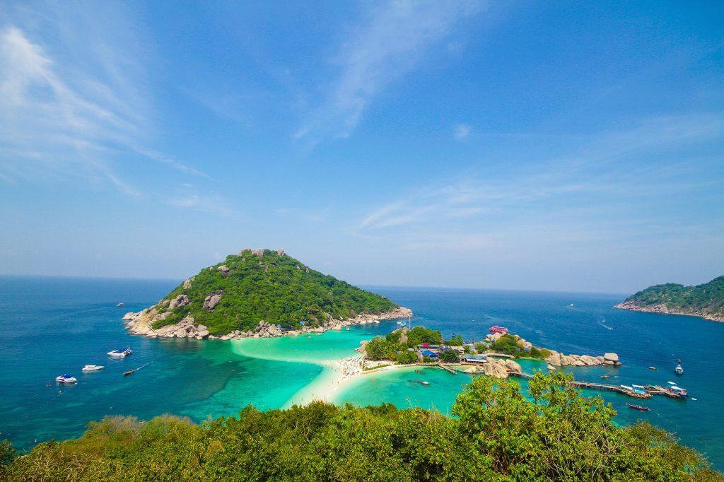 koh Tao Koh Nangyuan Tailandia