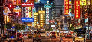 china town Bangkok luces de neon