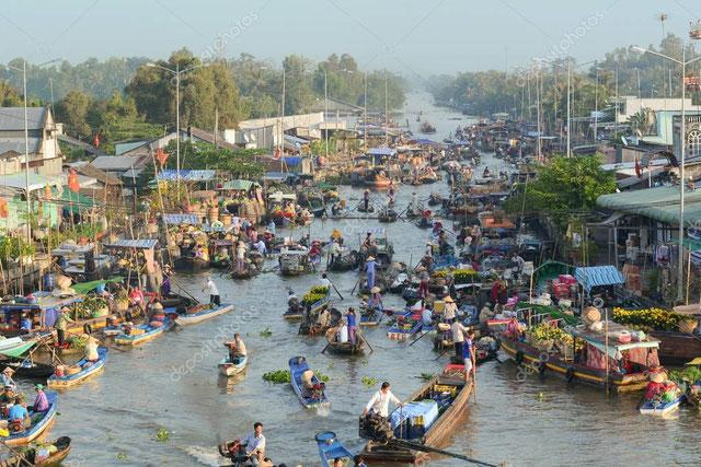 Meekong Delta Ben Tre guia en tailandia