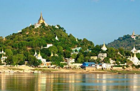 Mandalay templos pagodas sagaing ingles