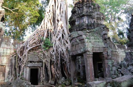Siem Reap Angkor Thom Therer Bayon Bapoun