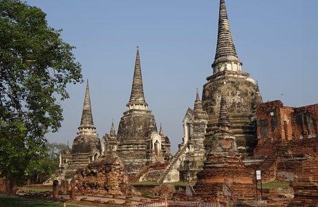 Ayutthayah templos Si Sanphet