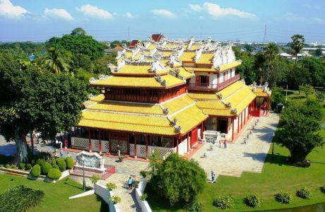 Ayutthayah Bang Pain templos