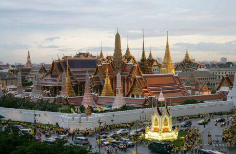 Palacio real Bangkok Wat po