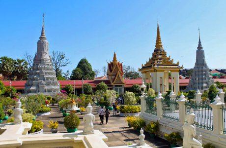 pagoda de plata mercado ruso Phnom Penh guia en tailandia tours