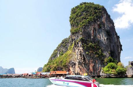 james bond Tailandia kayak