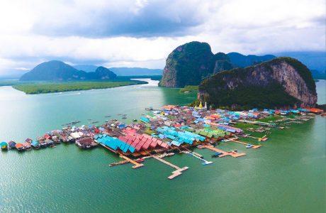 james bond Tailandia pescadores