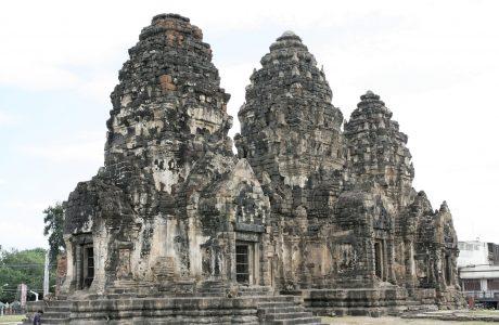 Lopburi templos Tailandia