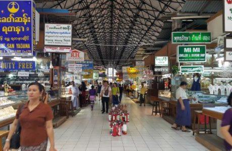 Yangon Mercados español tours