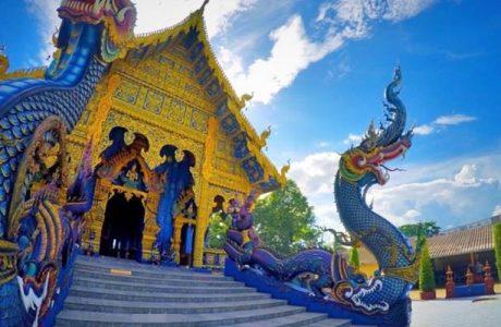 templo azul Chiang rai Tailandia