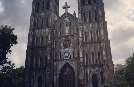 mercados catedral Hanoi tours