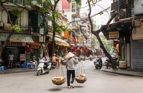 tour Hanoi guia en tailandia moto
