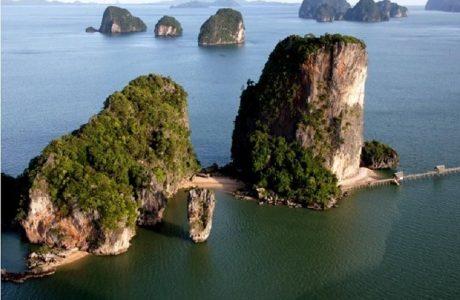 james bond Tailandia poblado