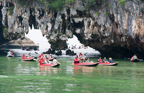 james bond Tailandia cuevas